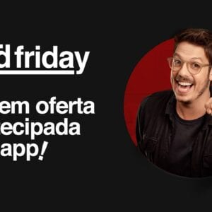 Black Friday Americanas: Vem aí a Red friday Americanas!